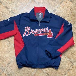 Majestic Atlanta Braves Authentic MLB Jacket sz M